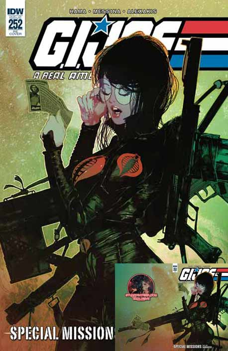 G.I.Joe #252 Sayger exclusiver cover