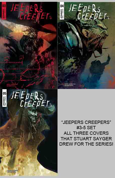 Jeepers Creepers 3-5 set